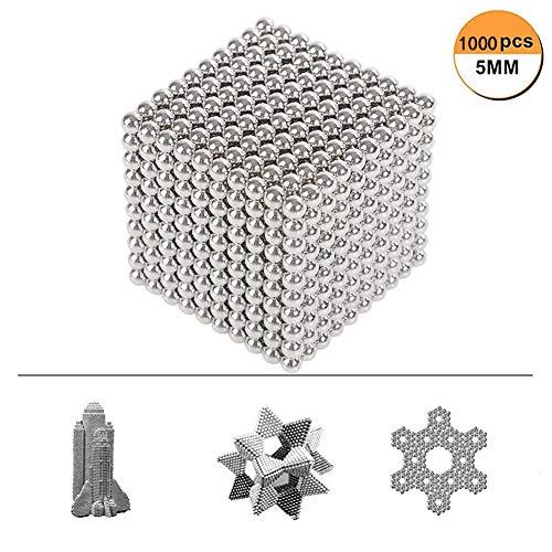 ude-Ball-Spielzeug, Puzzle Bausteine Spielzeug Bauen Kit Bildung Spielzeug Spielen Stacking Spiel mit Magnetischen für Erwachsene [1000 Stücke] ()