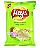 #5: Lays Potato Chips - American Style Cream & Onion Flavour (Party Pack) - 177 gm Pack