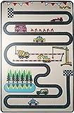 Alfombra infantiles - Diseño de Circuitos TAPITOM  - 130 x 200 cm