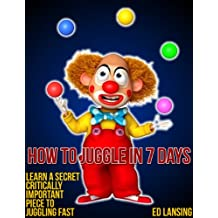 How To Juggle In 7 Days (English Edition)