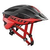 Scott Arx MTB Plus Fahrrad Helm Rot/Schwarz 2018: Größe: M (55-59cm)