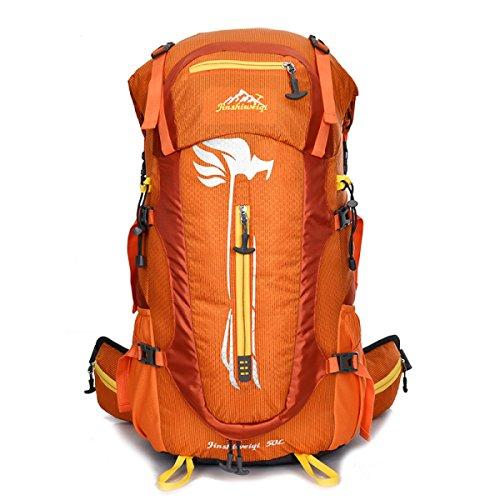 Multifunktional Reiten Outdoor Rucksack Wasserdicht Sport Bergsteigen Tasche Orange