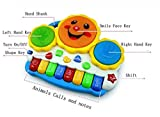 Reckonon Drum Keyboard Musical Toys With...