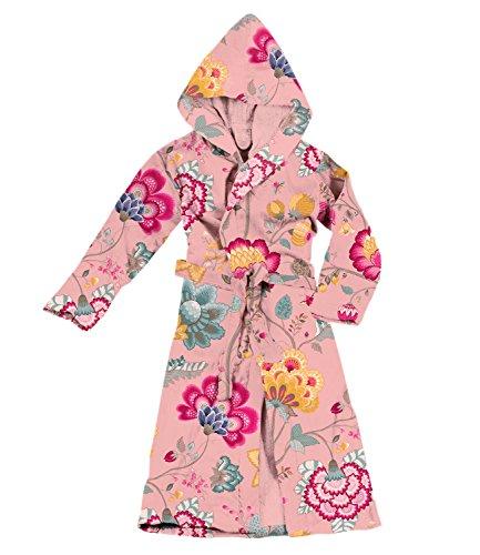 PiP Bademantel Floral Fantasy Rot, Small, Pink -