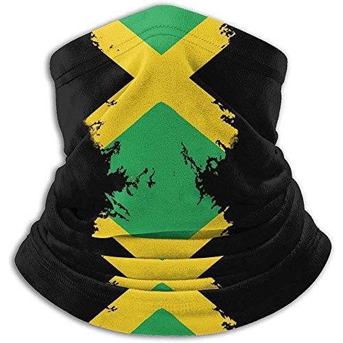 Xian Shiy Jamaika Fahnendruck In Nackenwärmer Winddicht Staubfrei Halsmanschette Antistatisches Skifahren Gesichtsschal Wärmefänger Sturmhaube Halbmaske