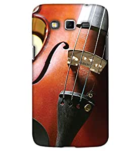 PrintHaat Back Case Cover for Samsung Galaxy Grand Neo :: Samsung Galaxy Grand Neo Plus :: Samsung Galaxy Grand Neo+ :: Samsung Galaxy Grand :: Samsung Galaxy Grand Neo i9060 :: Samsung Galaxy Grand Neo Plus i9060i (I love violin :: violin player :: love music :: love melody :: in brown)