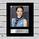 Emma Stone, con autografo la la Land