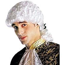 Clásico barroco rococó de la peluca de la peluca de la peluca de estilo barroco y
