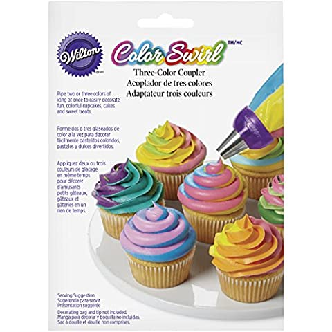 Wilton Colour Swirl Three-Colour Coupler,