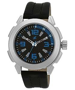 Fastrack Analog Black Dial Men's Watch-3130SL02