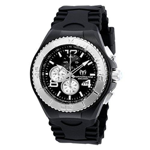 TECHNOMARINE CRUISE JELLYFISH HOMME 46MM NOIR QUARTZ MONTRE TM-115148