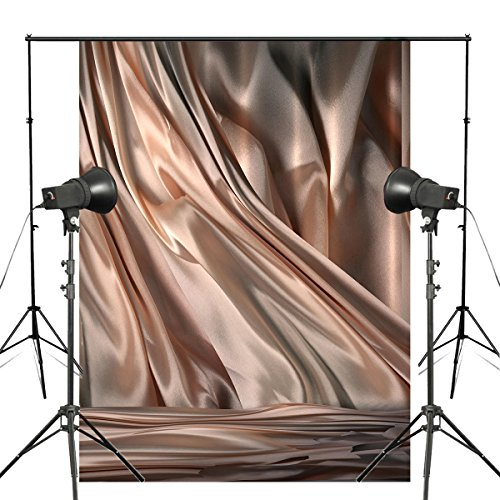 Pb Zone Abstrakt Khaki Fotografie Hintergrund Satin Hintergrund Foto Studio Requisiten Wand 5* 7ft Tuch Hintergrund DW191 -