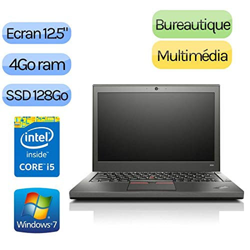 Lenovo ThinkPad X250–Windows 7–Webcam–i54GB 128GB SSD–12,5–NOTEBOOK PC
