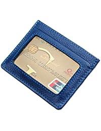 TOPSTORE01 Tarjeta De Crédito Caso De Cuero RFID Funda Protectora Estuche Mini Billetera Bolsa De Tarjeta
