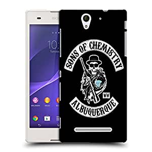 Snoogg Sons Of Chemistry Designer Protective Back Case Cover For SONY XPERIA C3