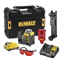 Dewalt Line Laser, Black, DCE0811D1R-QW, 10.8V