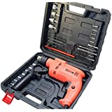 Cheston Powerful 13 mm Impact Drill Machine Cum Screwdriver Kit with Tool Accessories
