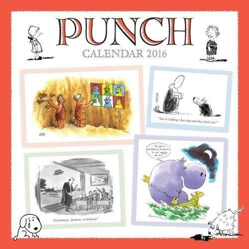 Punch wall calendar 2016 (Art calendar)