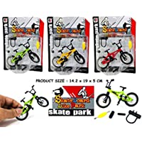 DIE-CAST Mini Size Finger Bike Mini Bicycle BMX Skateboard park Young Biker Game