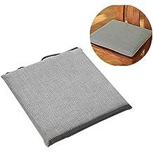 Coussin De Chaise Tatami 45 X 45cm Dehoussable Respirant Japonais Coton Et Lin