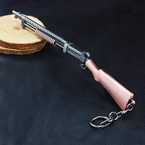 HNTZH Spiele Prop 1/6 Mini Metall S1897 Schrotflinte Modell Action Figure Schlüsselanhänger Spielzeug Zubehör