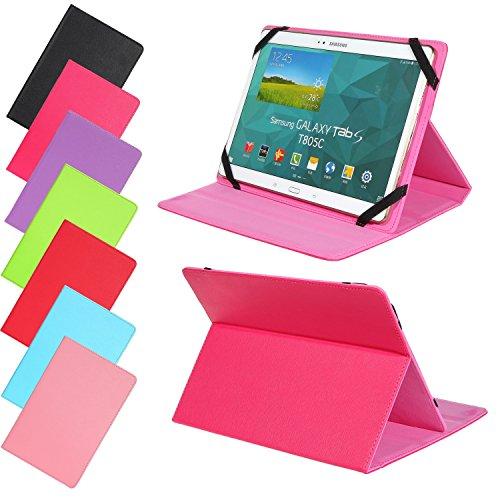 Universal Slim Tasche für verschidene Tablet Modelle Schutz Case Hülle Cover (9 / 10 Zoll, Pink)