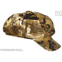 Rapero - Gorra de colour negro - dorado