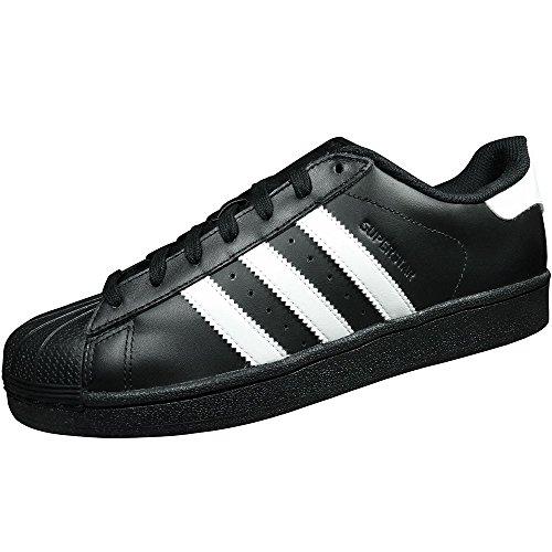 adidas Originals Superstar Foundation Herren Sneakers, B27140, Schwarz (Core Black/Ftwr White/Core Black), 43 1/3 EU (9 Herren UK)