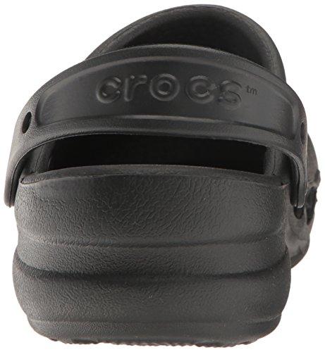 crocs Unisex-Erwachsene Specialist Vent Clogs Schwarz (Black)