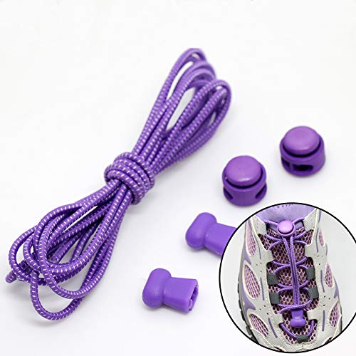 ZHAOHE No Tie Shoelaces Elastic Tie-Free Shoes Lacci per Adulti Bambini