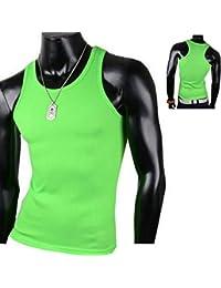 Herren Tanktop Tank top Muskelshirt Fitness T shirt Achselshirt