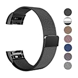Swees Milanese Fitbit Charge 2 Armband Wrist Band Strap, Samll-Large(5.5'-9.9')
