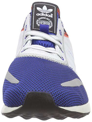 adidas Los Angeles, Baskets Basses Homme Blanc - Weiß (FTWWHT/FTWWHT/CROYAL)