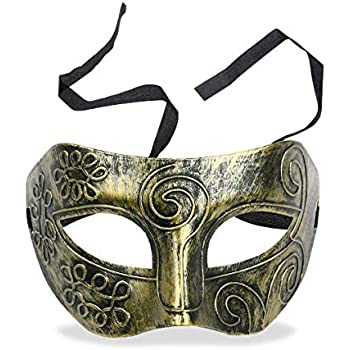 TRASPARENTE Maschile Maschera Occhi Costume Accessorio Halloween Festa
