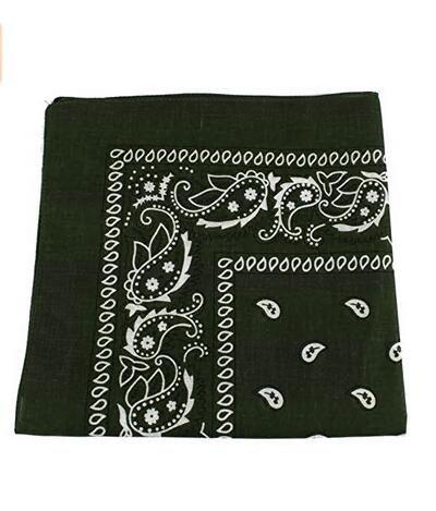 Bravehope Hot Fahrrad Stirnband Outdoor Kopftuch Baumwolle Cashew Quadratisches Tuch Amoeba Kopftuch