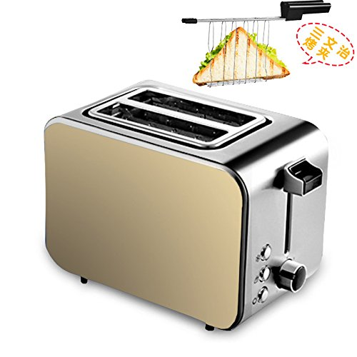 GCCI Toaster B?ckerei Home Frühstück Tat Stoker Baked Tile Driver 2 Stück,Gold