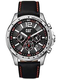 CAT Boston Chronograph Leather Watch AD14334138
