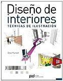 Diseño de interiores. Técnicas de ilustración (Arquitectura contemporanea)