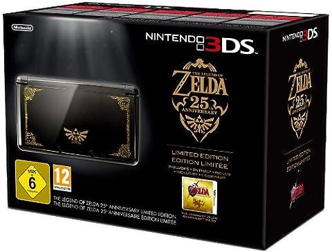 Console Nintendo 3DS - noire + The legend of Zelda