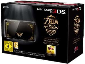 Console Nintendo 3DS - noire + The legend of Zelda : Ocarina of time 3D - 25ème Anniversaire