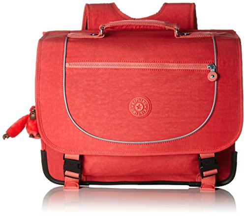 Kipling - POONA M - Sac d'école - Red - (Rouge) Happy Red C