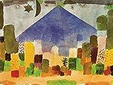 Posters: Paul Klee Poster Reproduction - Le Niesen, Nuit Égyptienne, 1915 (80 x 60 cm)