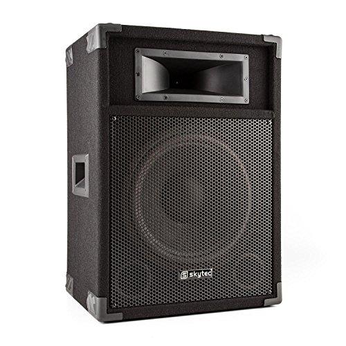'Skytec csb12Aktive PA Verstärker (Lautsprecher Bass-12, 600W Leistung, Abschnitt Mikrofon)