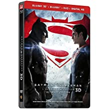 Batman V Superman : L'aube De La Justice (version longue) [Steelbook Edition - Blu-ray 3D + Blu-ray + DVD + Copie digitale] [SteelBook Ultimate Édition - Blu-ray 3D + Blu-ray + DVD + Copie digitale]