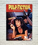 Posterskart 'Pulp Fiction Movie' Poster for Room 300 GSM Matte Finish (12 x 18) Inch
