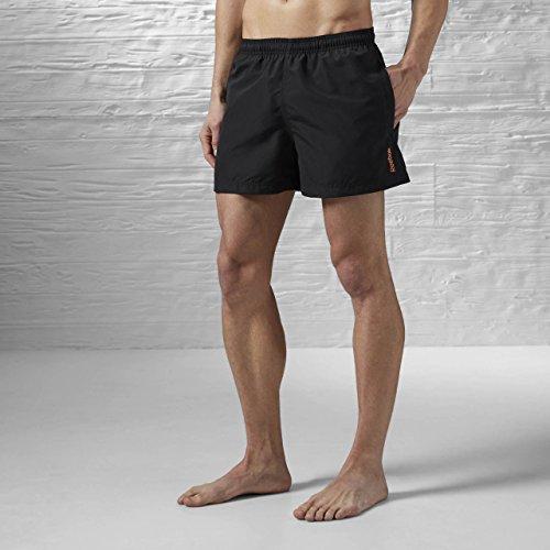 Reebok Bw Basic Boxer–Badehose Black (schwarz)