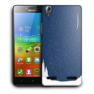 Snoogg Snow Nite Designer Protective Phone Back Case Cover For Lenovo A6000