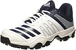 Adidas Mens Howzatt Ind Ftwwht/Conavy Cricket Shoes - 12 UK/India
