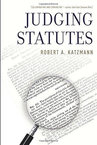 Judging Statutes