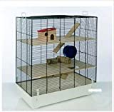 Fun Area Small Pet Home - Offers Multiple Levels Of Living Space - Suitable For Hamsters, Gerbils And Mice